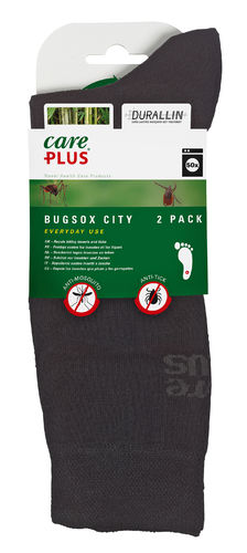 CarePlus® Bugsox Traveller - schwarz